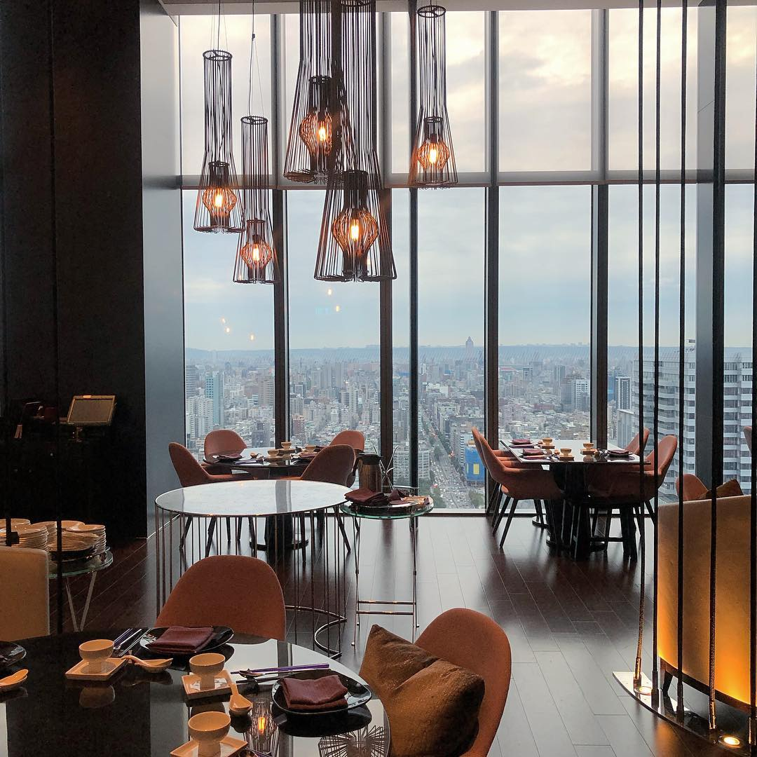 Restaurants in Taipei with unobstructed views - Yen Taipei