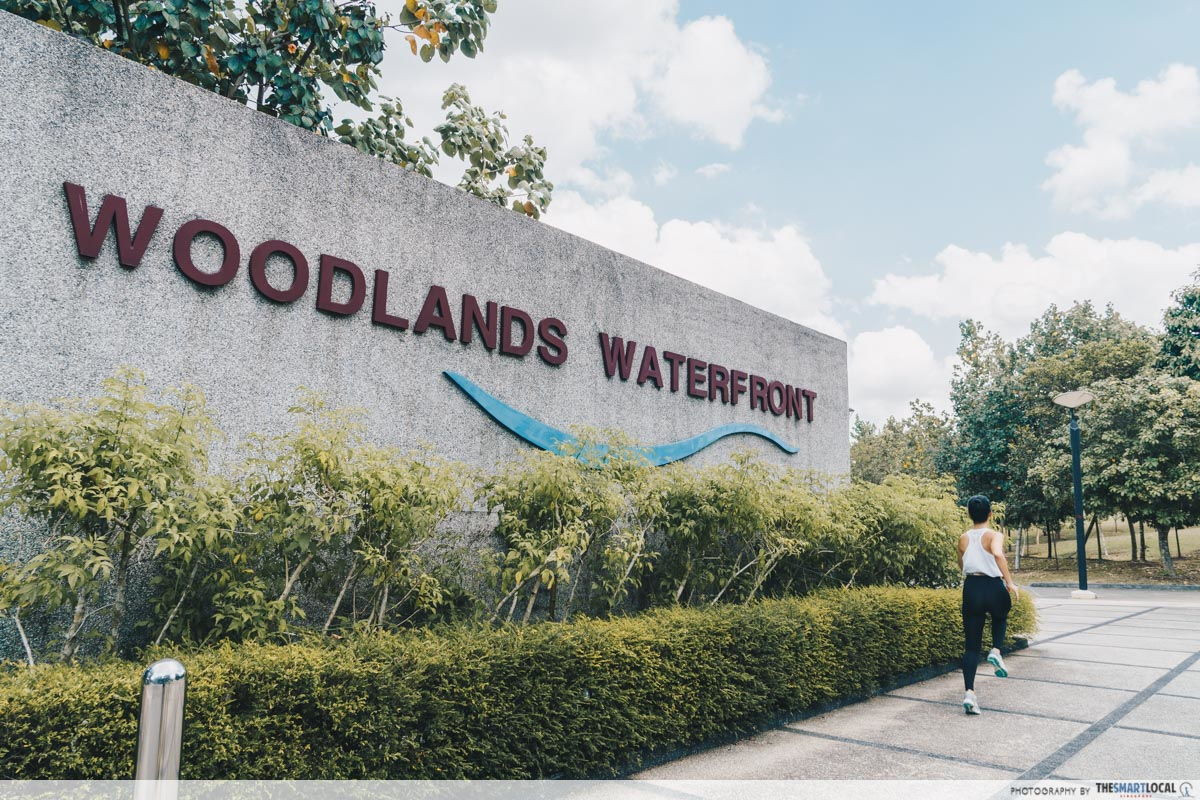 woodlands waterfront park run