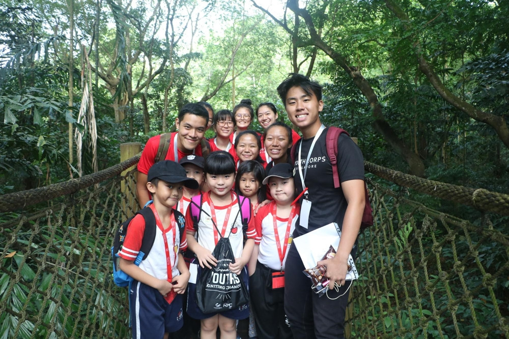 Youth Corps Service Week - Nurture in Nature