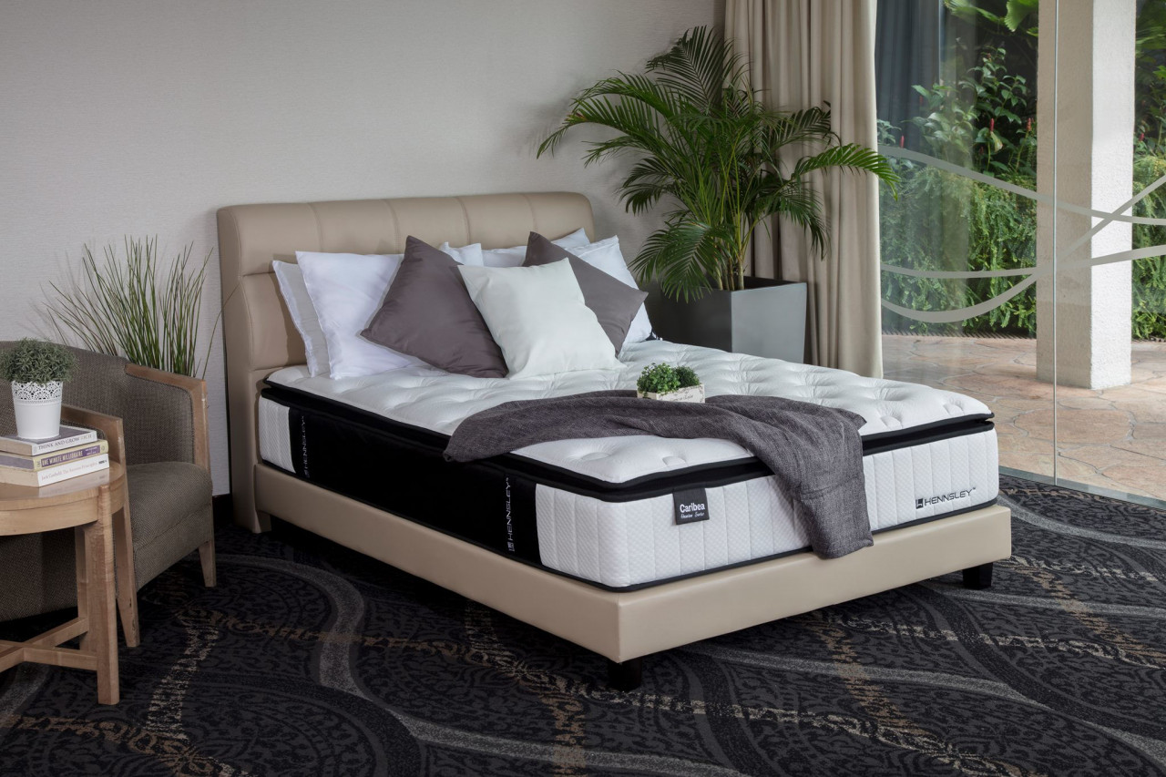 hennsely's mattress bed queen king size coil