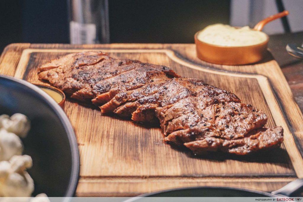 flat iron sinapore steak eatbook food
