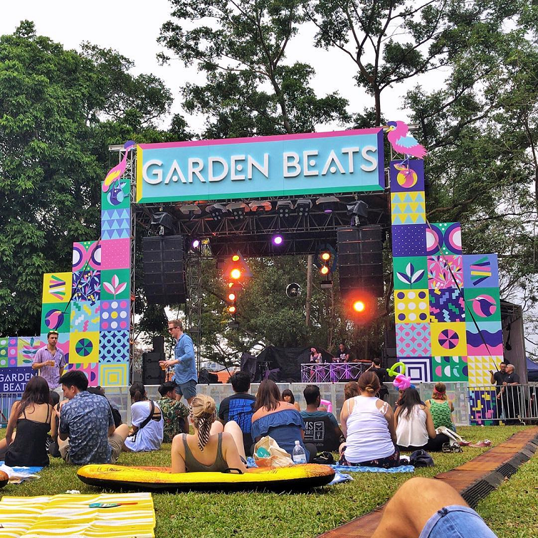 garden beats things to do march picnic music festival