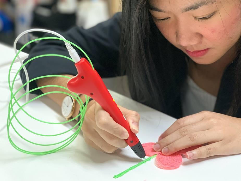 singapore design festival 3d printing pens
