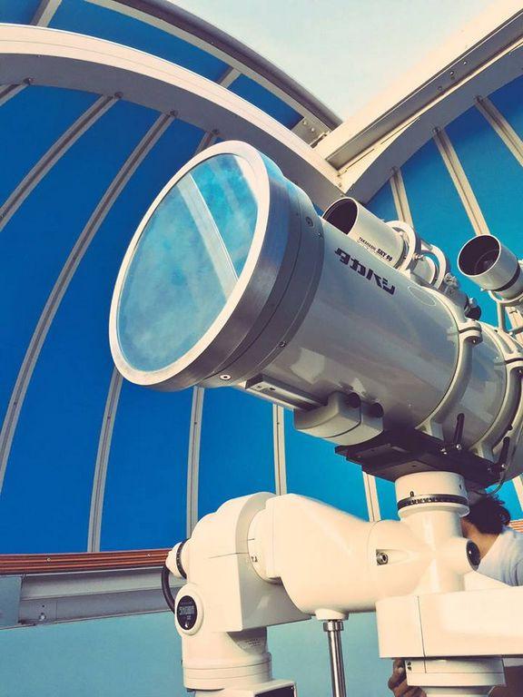 woodlands galaxy community club telescope