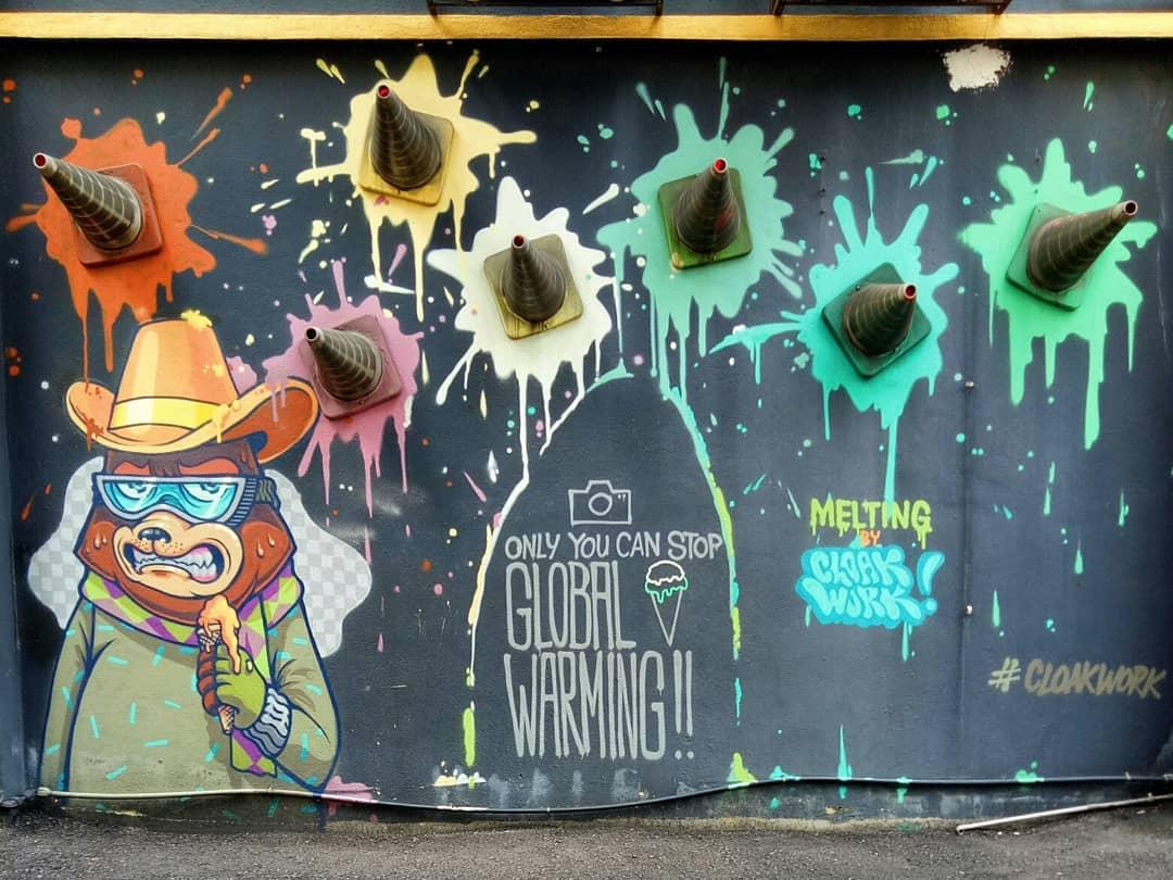 laman seni 7 street murals installations instagrammable kuala lumpur kl