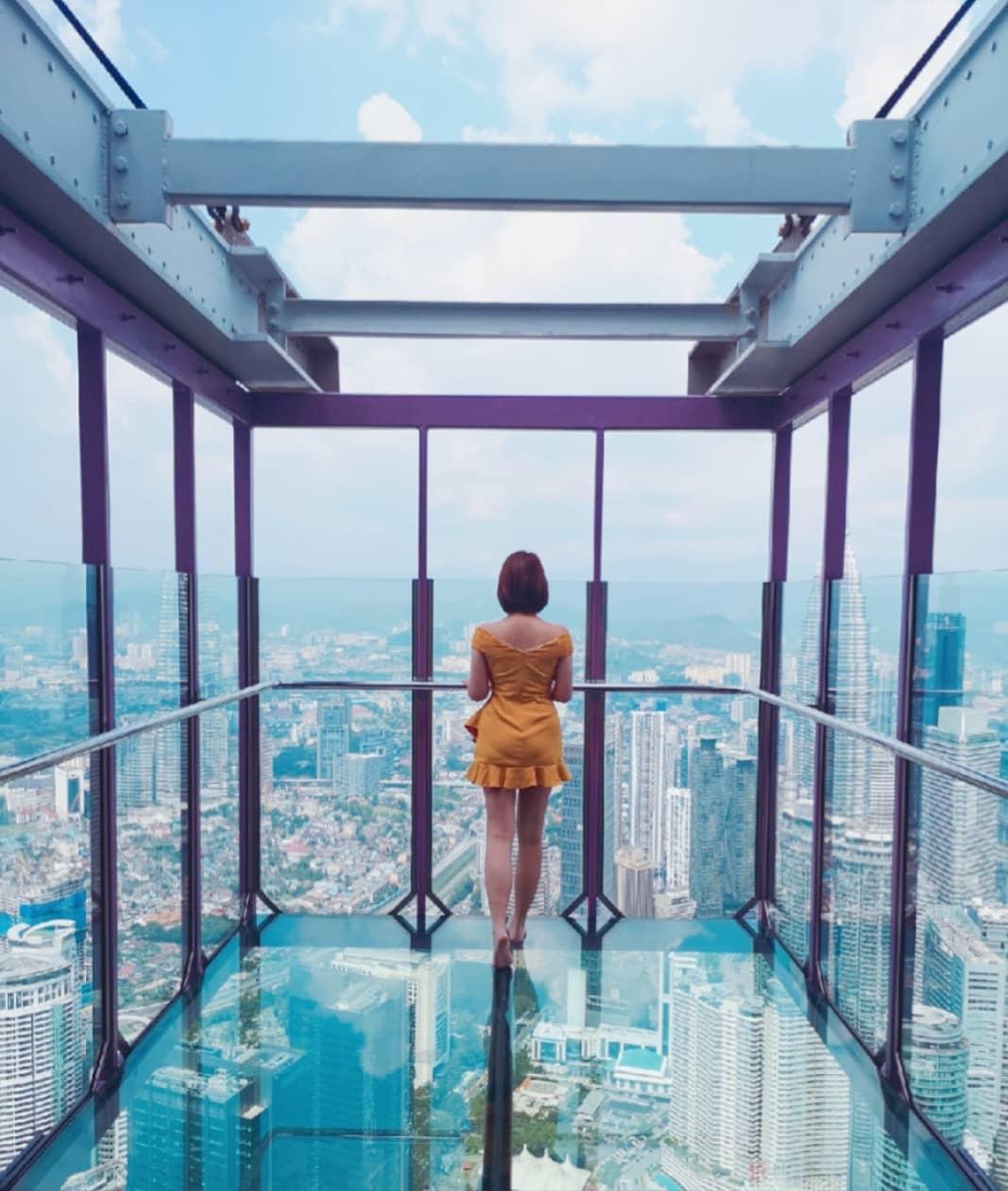 sky deck kl tower instagrammable kuala lumpur