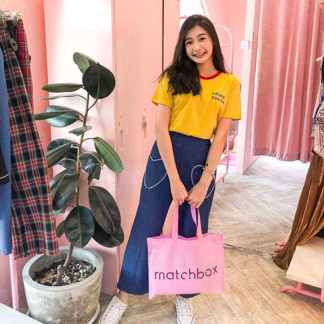 matchbox thailand pink cafe shopping clothes themed pinkplanter