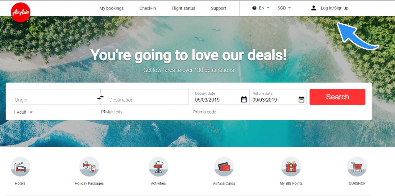 AirAsia BIG deals