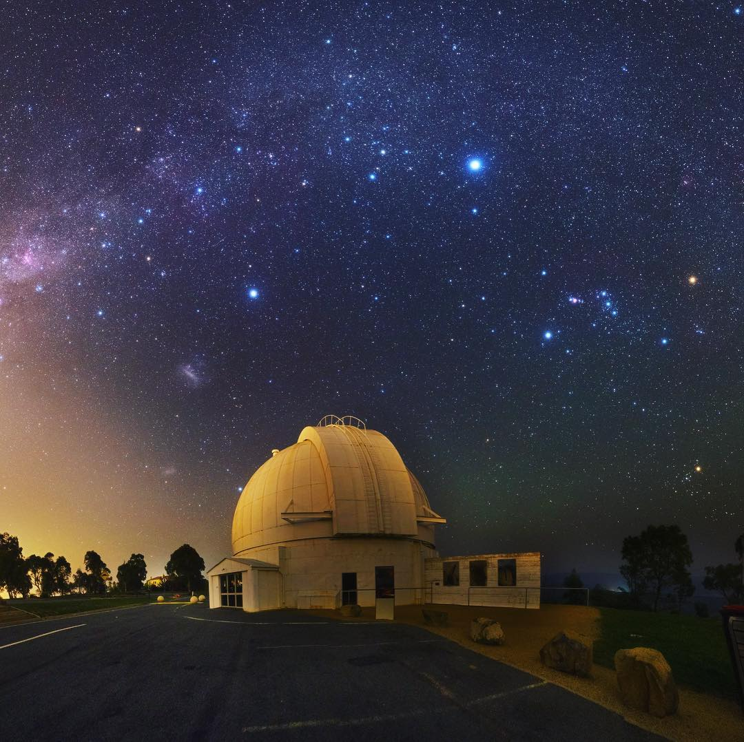 Australia and New Zealand Photogenic Nature Spots Mount Stromlo Observatory