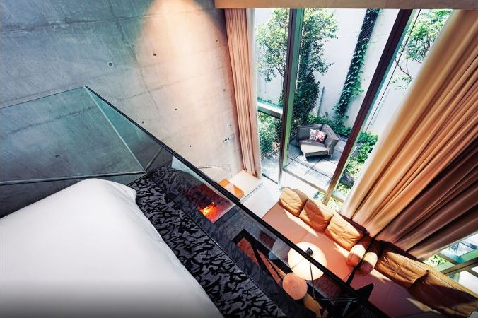 m social singapore hotel romantic loft gallery terrace premier room couple staycation
