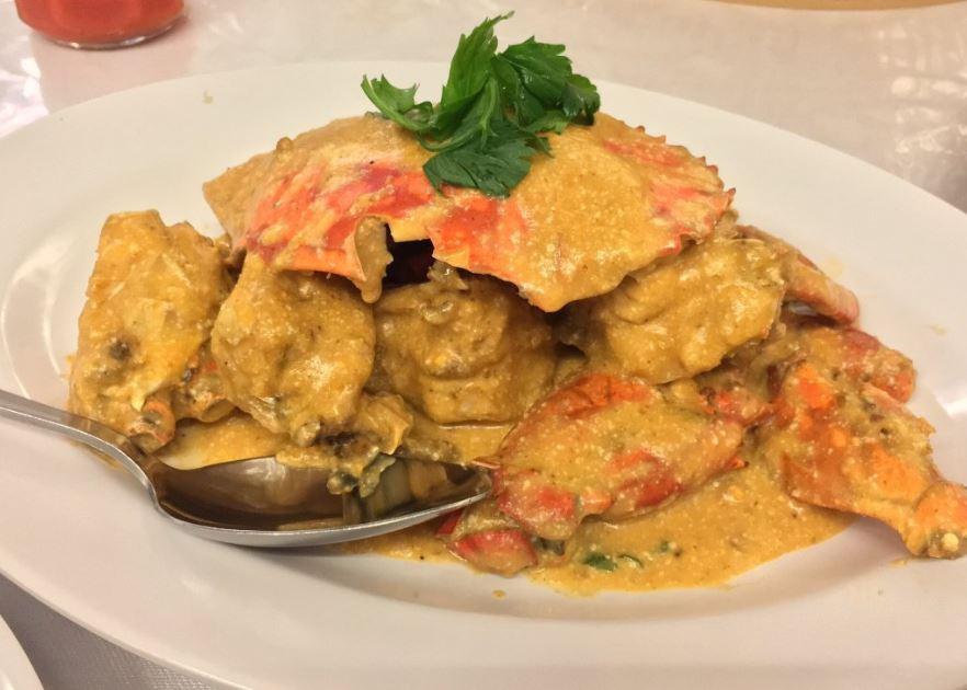 sei enam batam cheap batam seafood crab chilli crab salted egg
