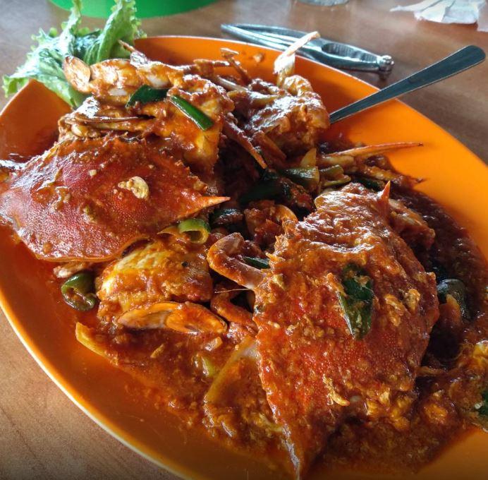 cheap seafood crab batam barelang seafood restaurant kelong style chilli crab