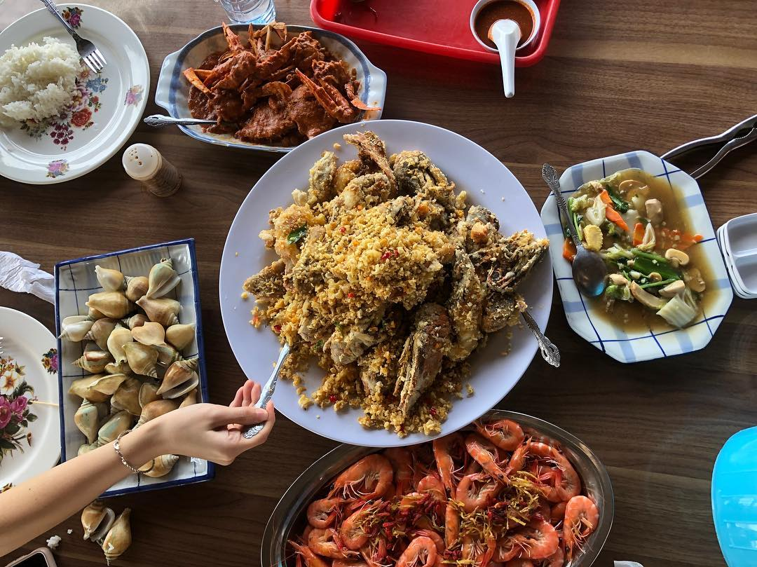 cheap batam seafood crab kopak jaya 007 kelong restaurant