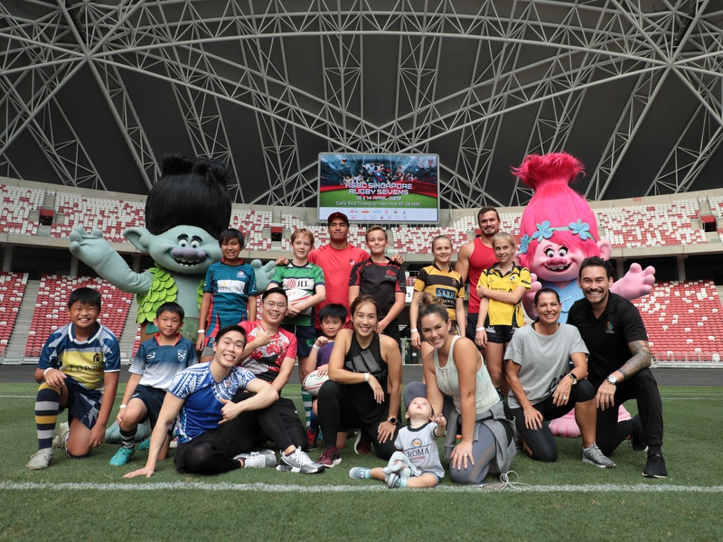 Singapore Rugby 7s - DreamWorks