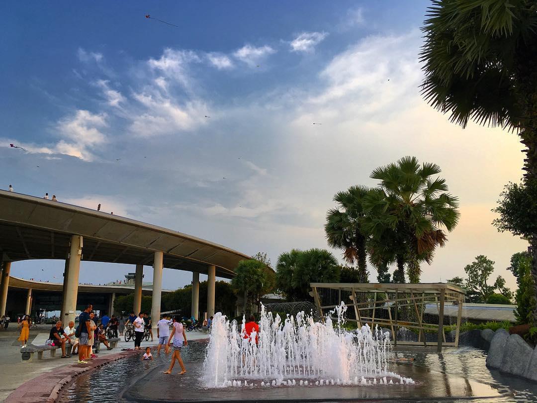 Marina Barrage Water Playground