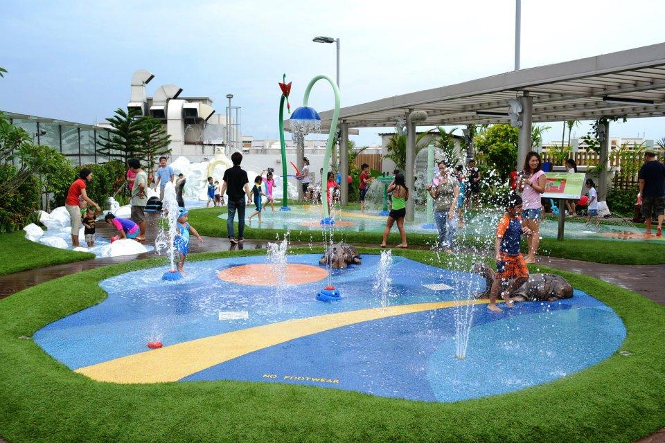 Wildlife Wet Play Area