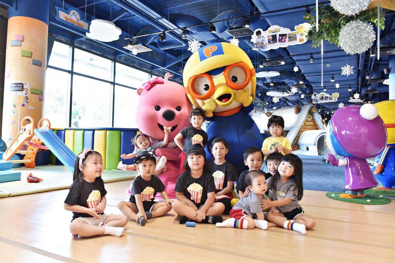 pororo indoor playground characters kids