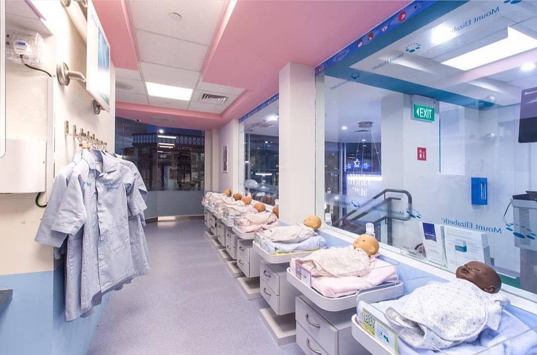 kidzania singapore baby infirmary doctor