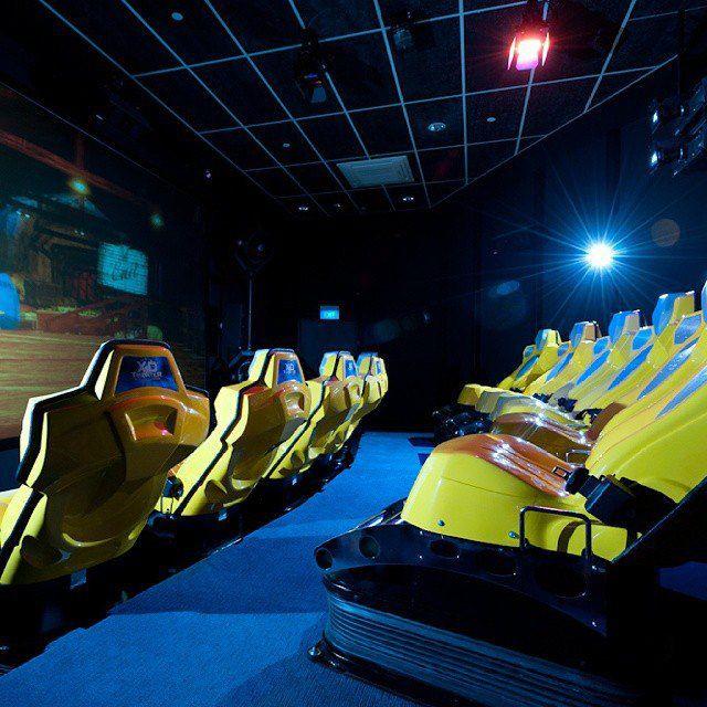 singapore discovery centre 4d simulator ride
