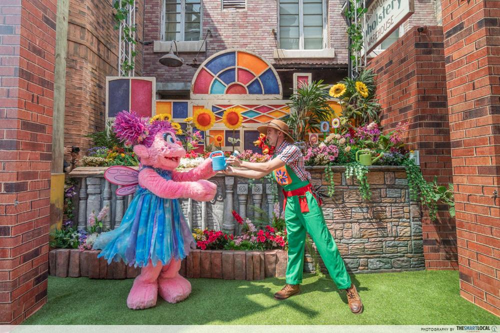 Universal Studios Singapore Has A Huge Sesame Street Party
