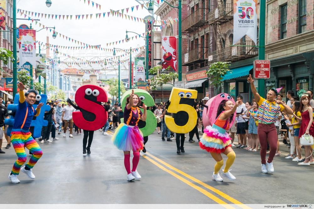 Universal Studios Singapore Has A Huge Sesame Street Party