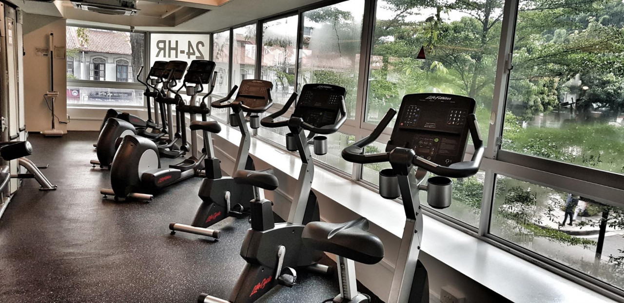 The Gym interior
