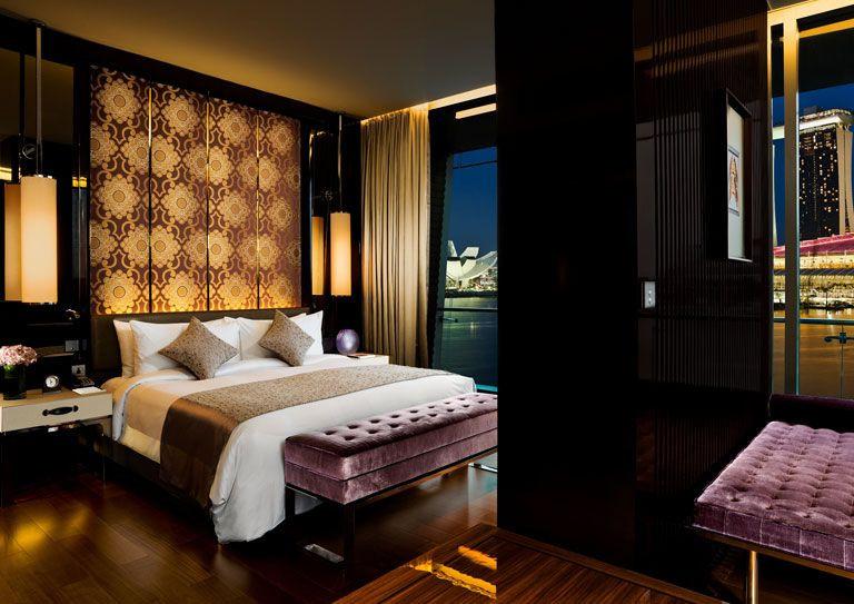 fullerton bay hotel bedroom room suite