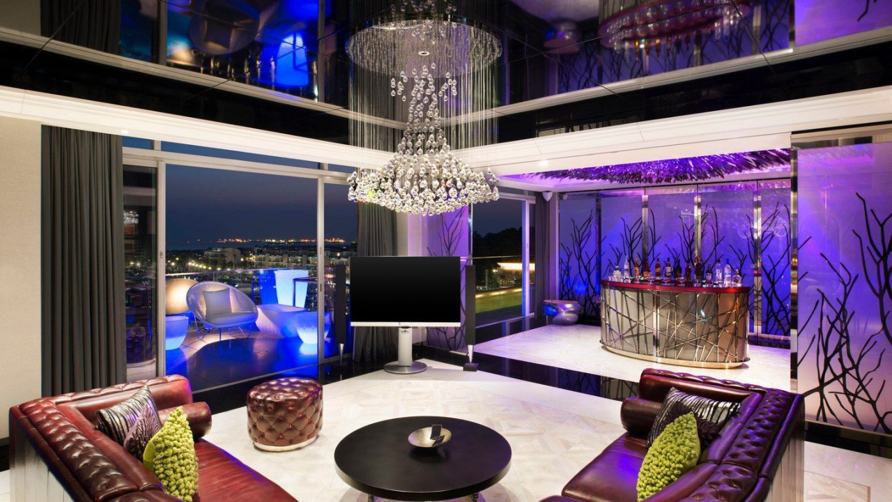 w hotel extreme wow suite king president suite room