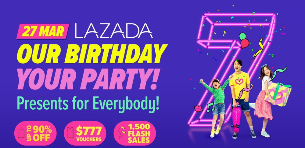 Lazada Birthday Sale - promos and discounts