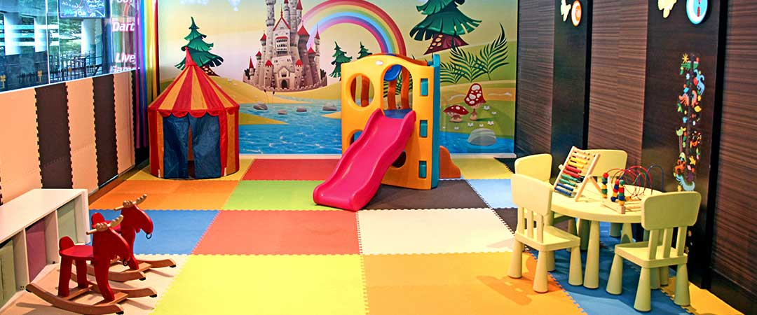children's play room at Furama Bukit Bintang