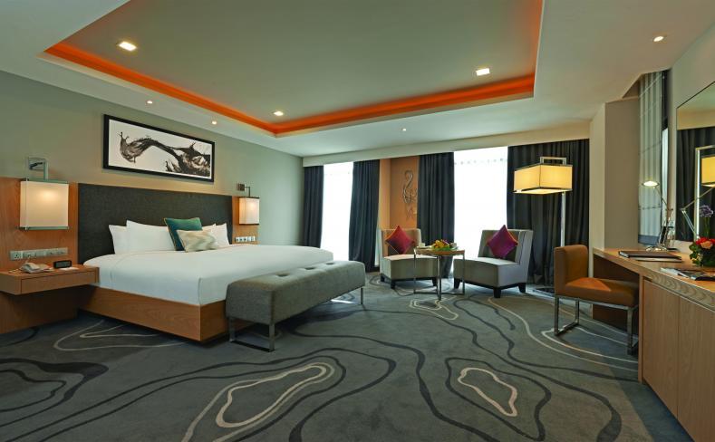 Hotel room at Berjaya Times Square Hotel