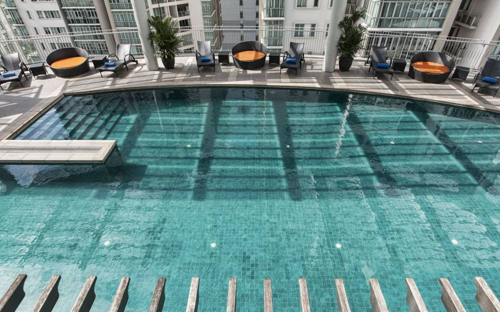 Ascott KL's swimming pool