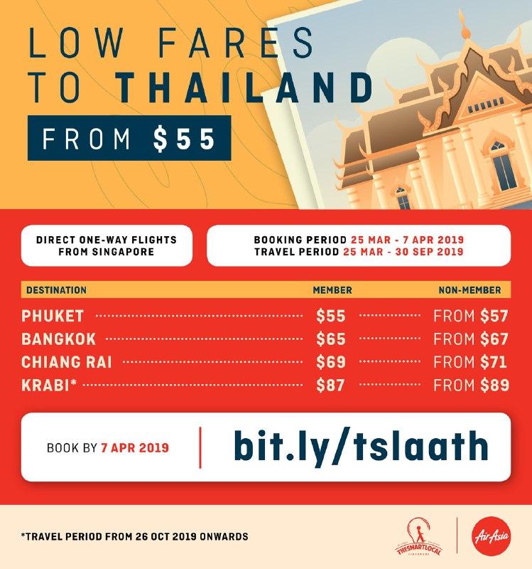 airasia thailand trips 2019