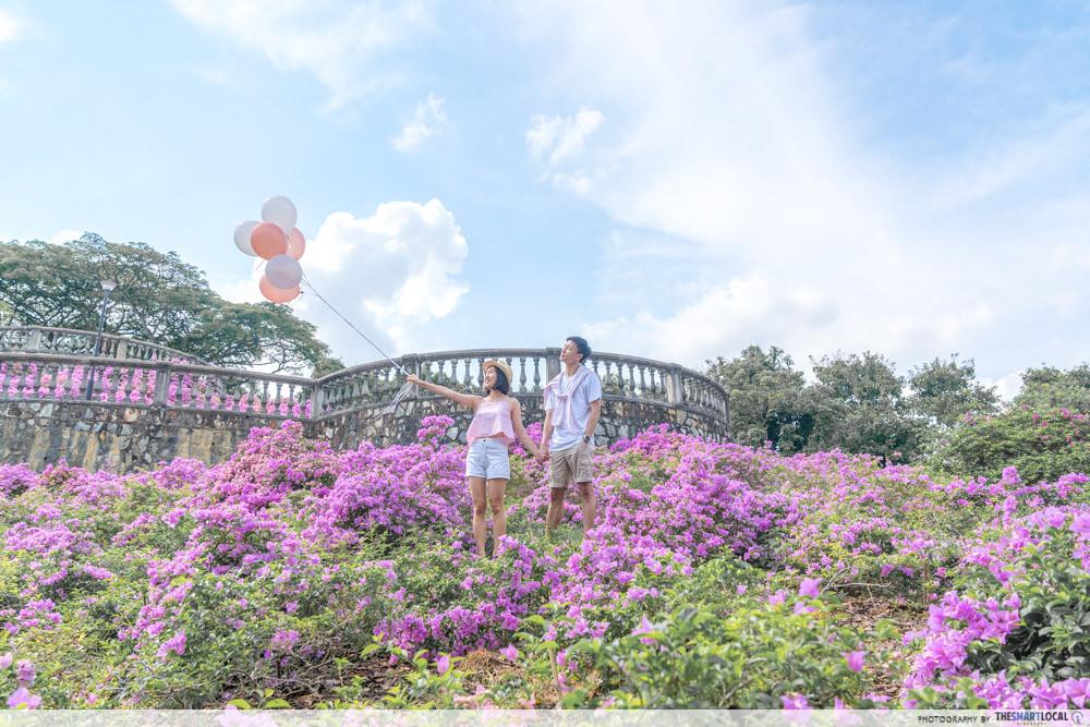 Couple shot at Telok Blangah Hill Park