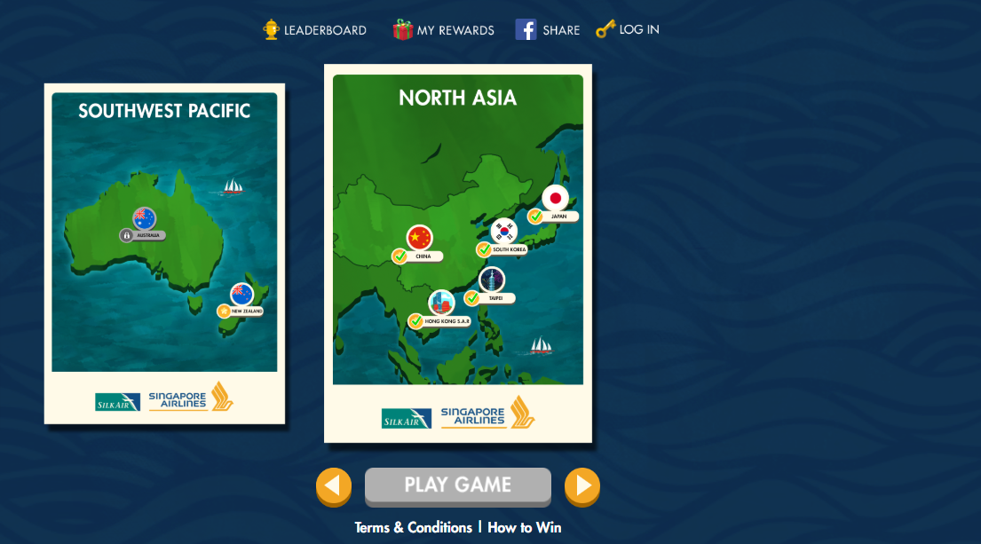 North Asia option in SingaporeAir Games