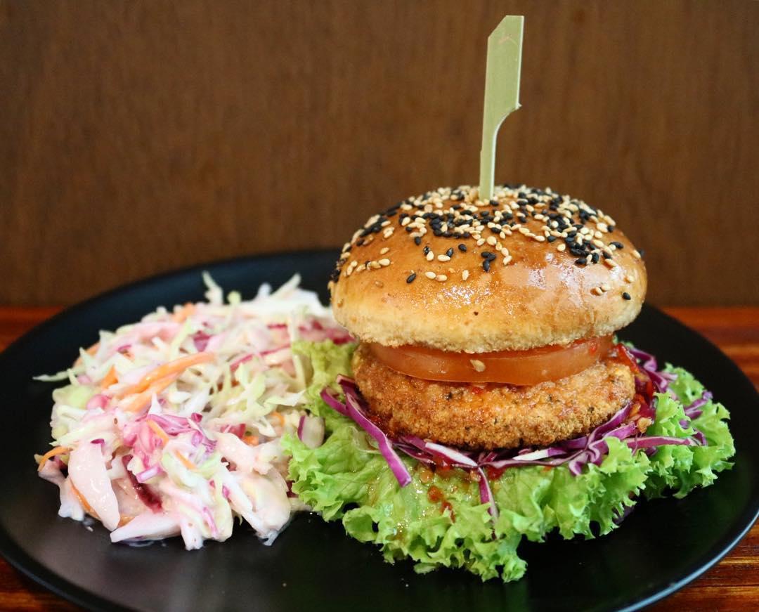 soul alife crispy spicy burger
