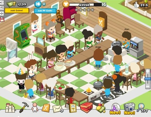 restaurant city popular nostalgic facebook games