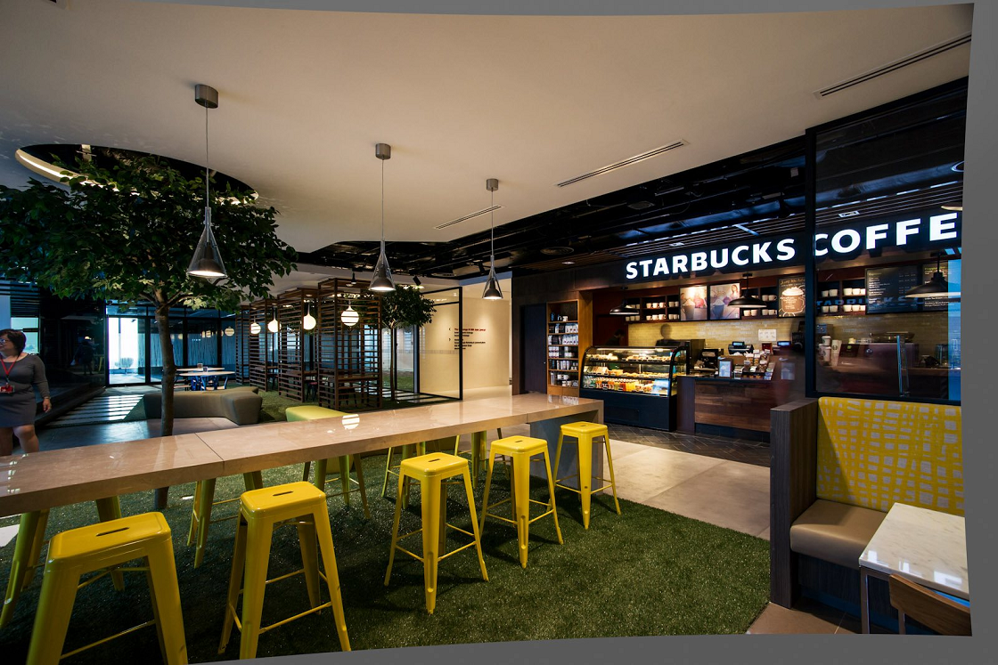 prettiest starbucks singapore outlets dbs level 13 marina bay financial center