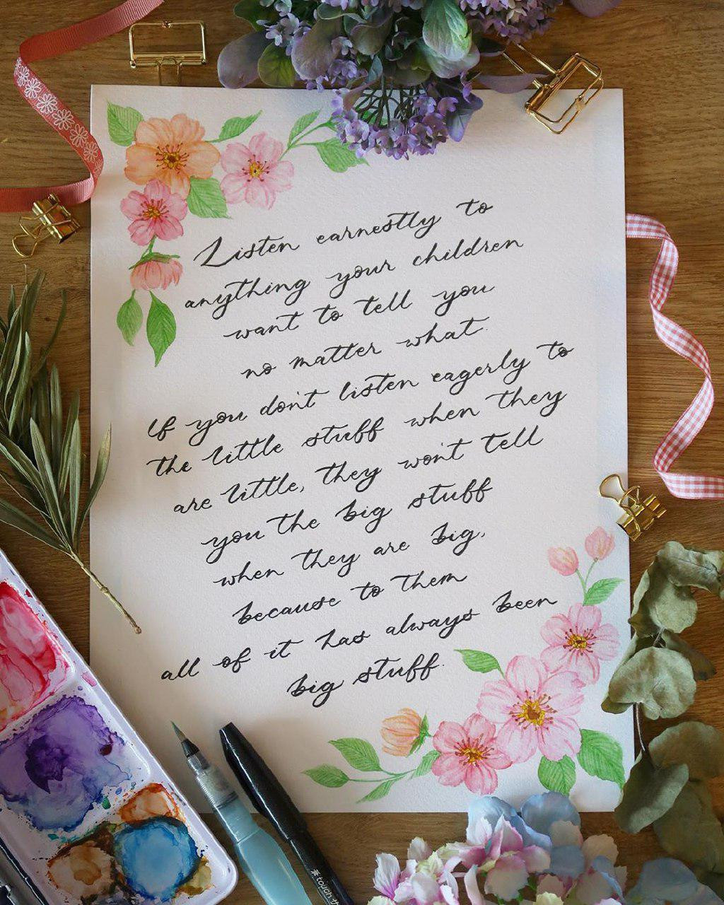 Dottieshop calligraphy lessons