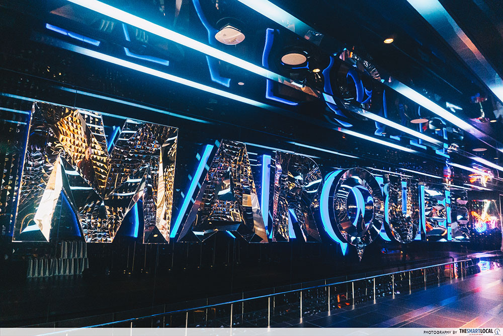 Marquee Is A New Nightclub At MBS With Huge Slides & Ferris