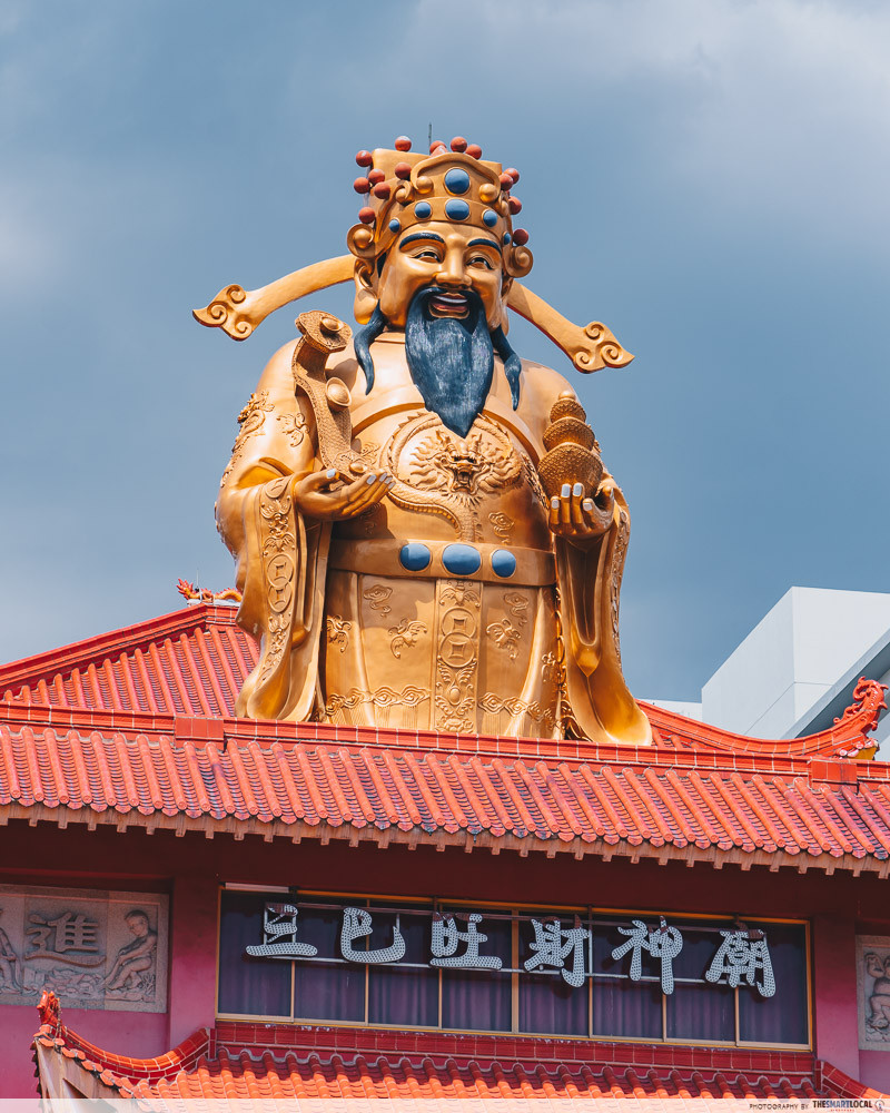 Largest God Of Wealth statue in the world
