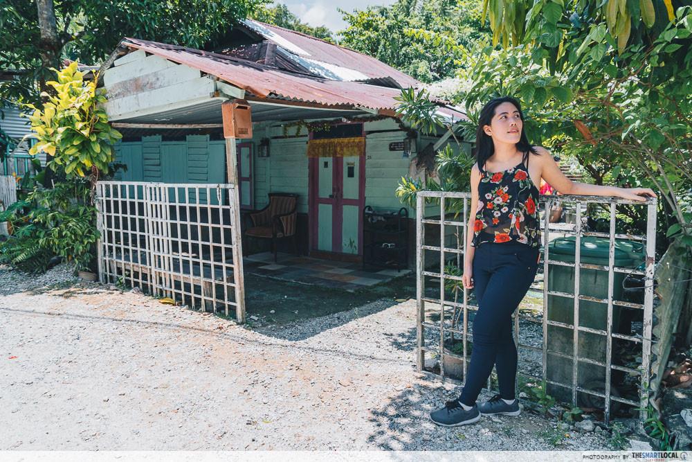 last kampung left in Singapore