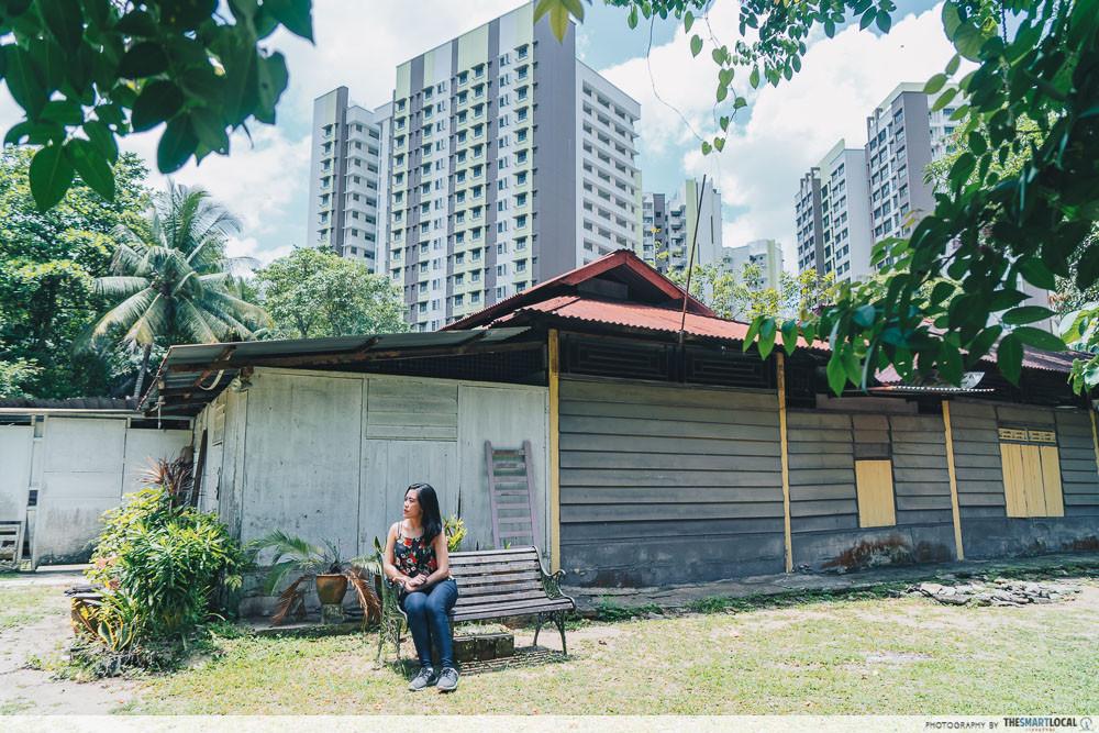 kampung in singapore