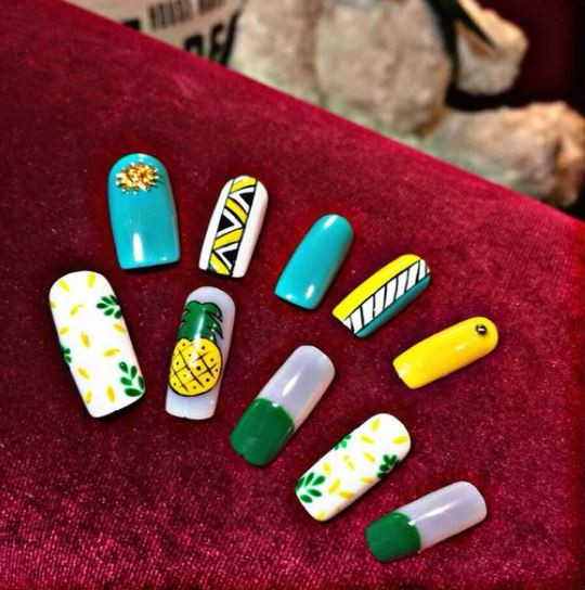 nails from Young Waxing & Nails
