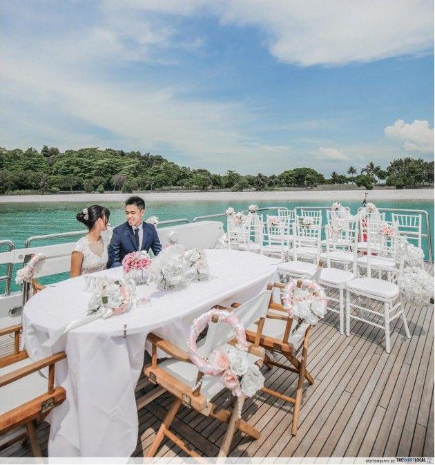 singapore cruise wedding