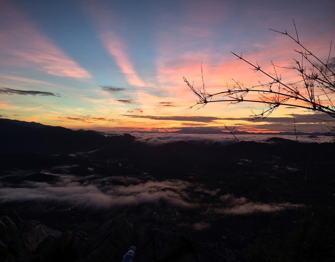 Sunrise at Mount Baling Kedah
