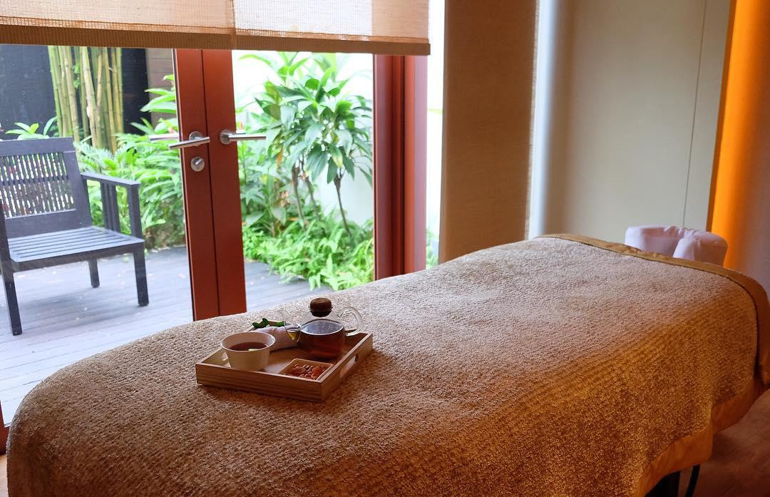 Auriga Spa room with a view