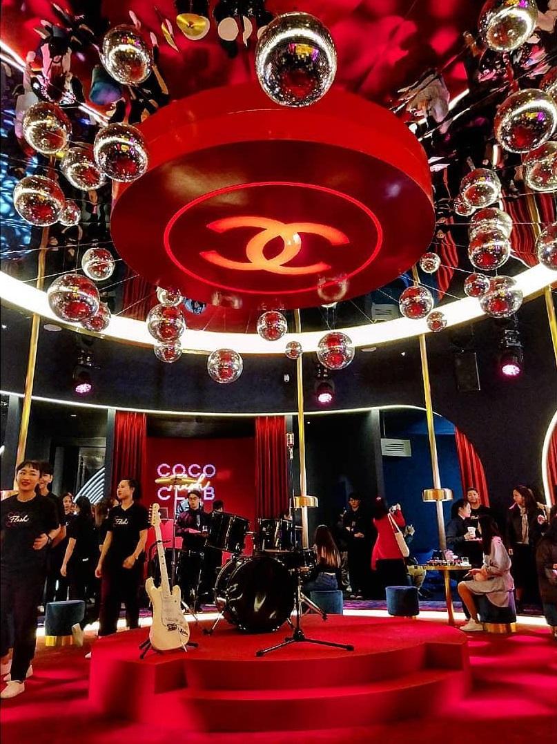 COCO Flash Club pop-up