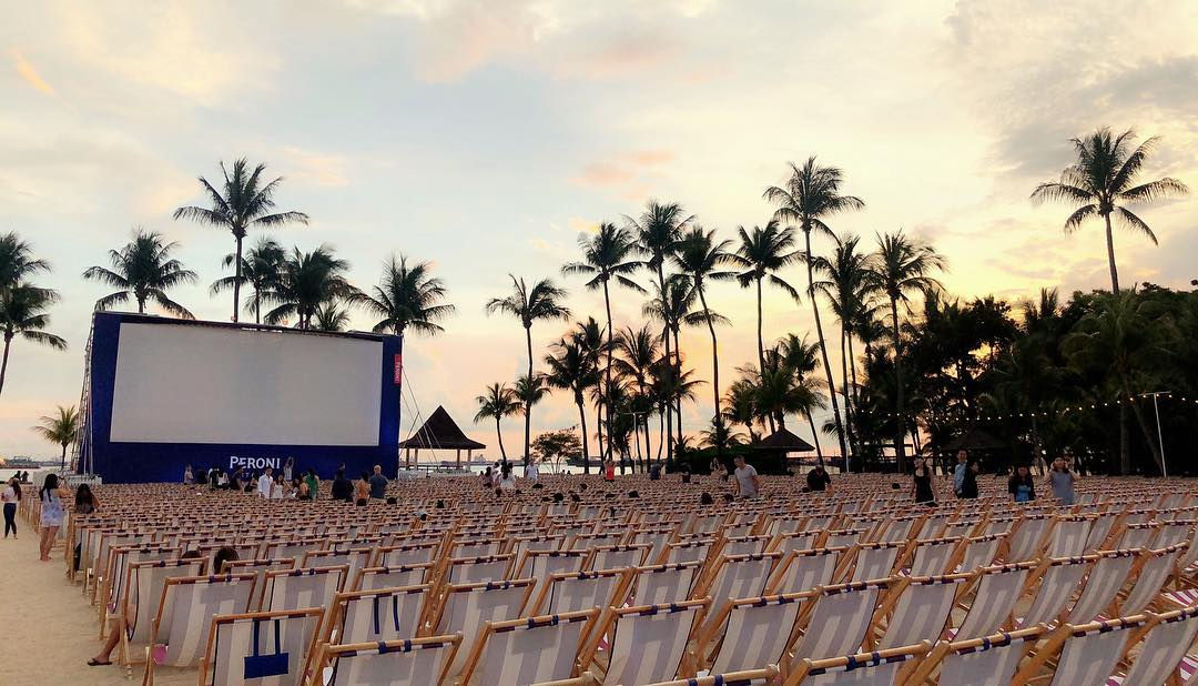 Peroni Sunset Cinema