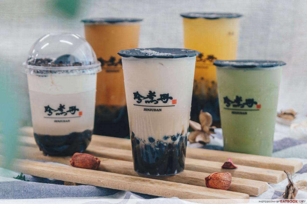 Jenjudan milk tea